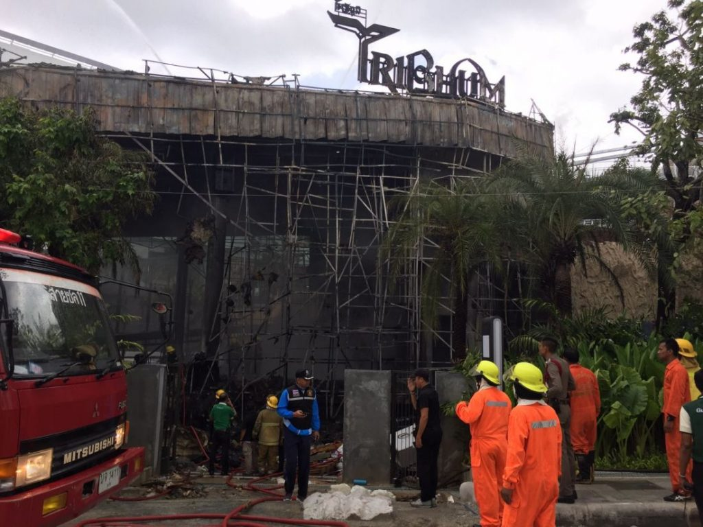 Central Floresta releases a statement following Tribhum 'volcano' fire | News by The Thaiger