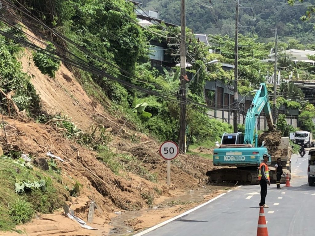 Bridge over troubled floodwaters - Kamala to Patong Road | News by The Thaiger