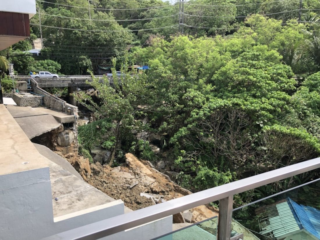 Bridge over troubled floodwaters – Kamala to Patong Road | The Thaiger