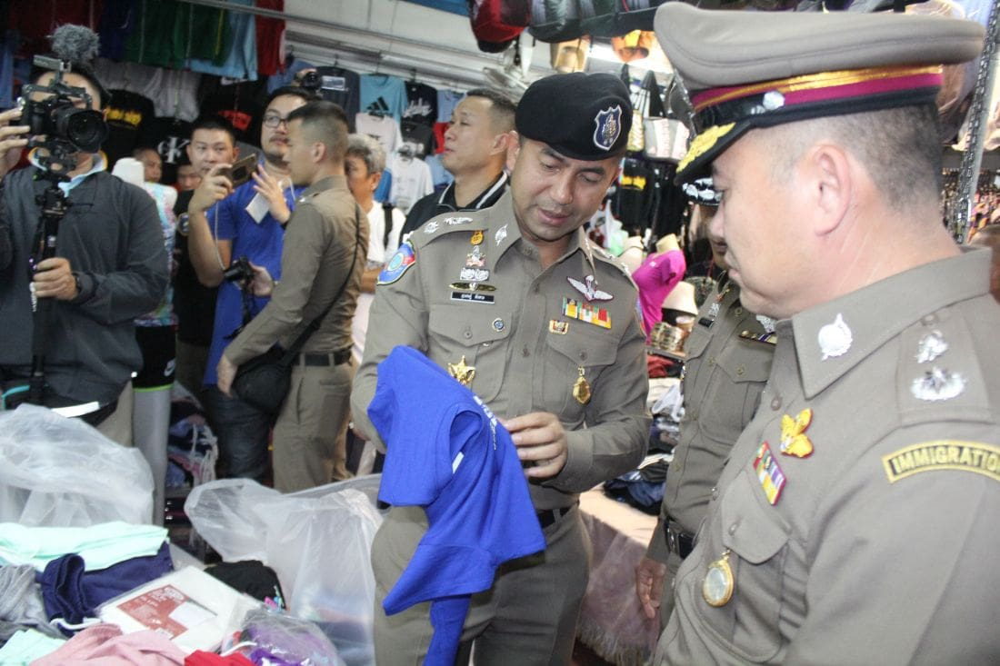 100 million baht of counterfeit goods seized in Patong | The Thaiger