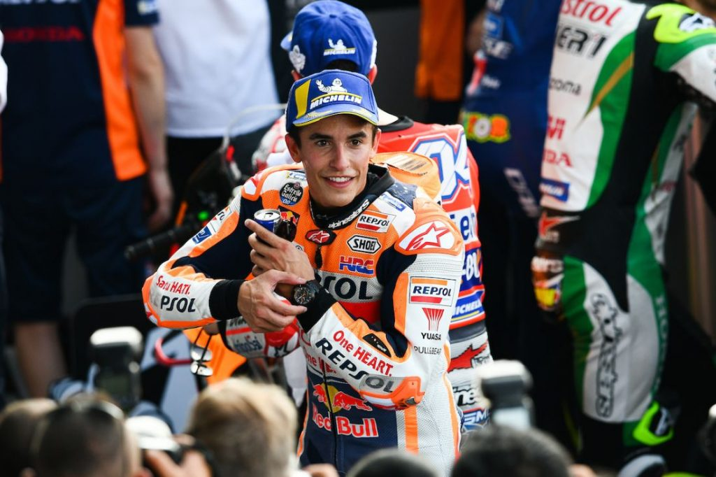 MotoGP Day Two - Marc Marquez grabs pole position | News by The Thaiger