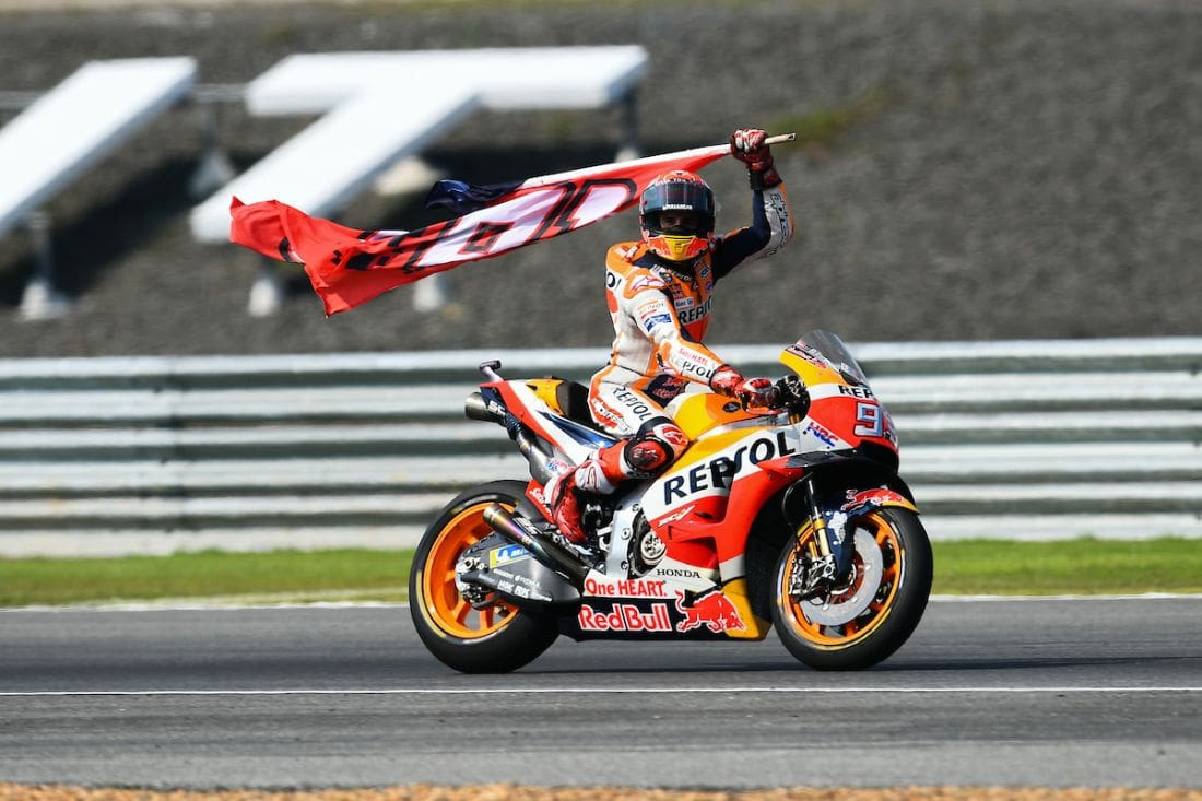 Marquez beats Dovizioso in Buri Ram MotoGP thriller | The Thaiger