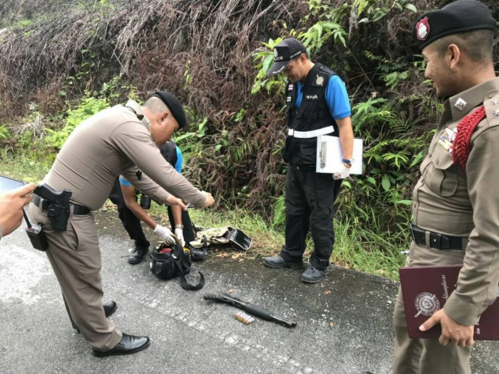 Police continue hunt for three suspects after breaking a checkpoint | News by The Thaiger