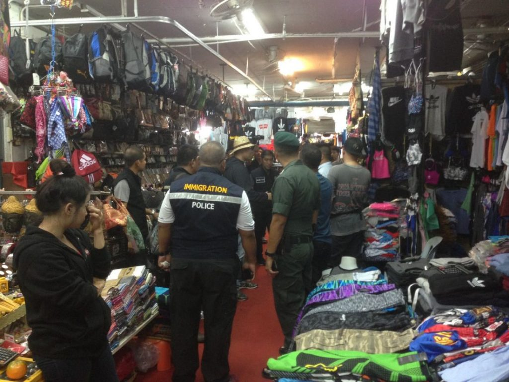 100 million baht of counterfeit goods seized in Patong | News by The Thaiger