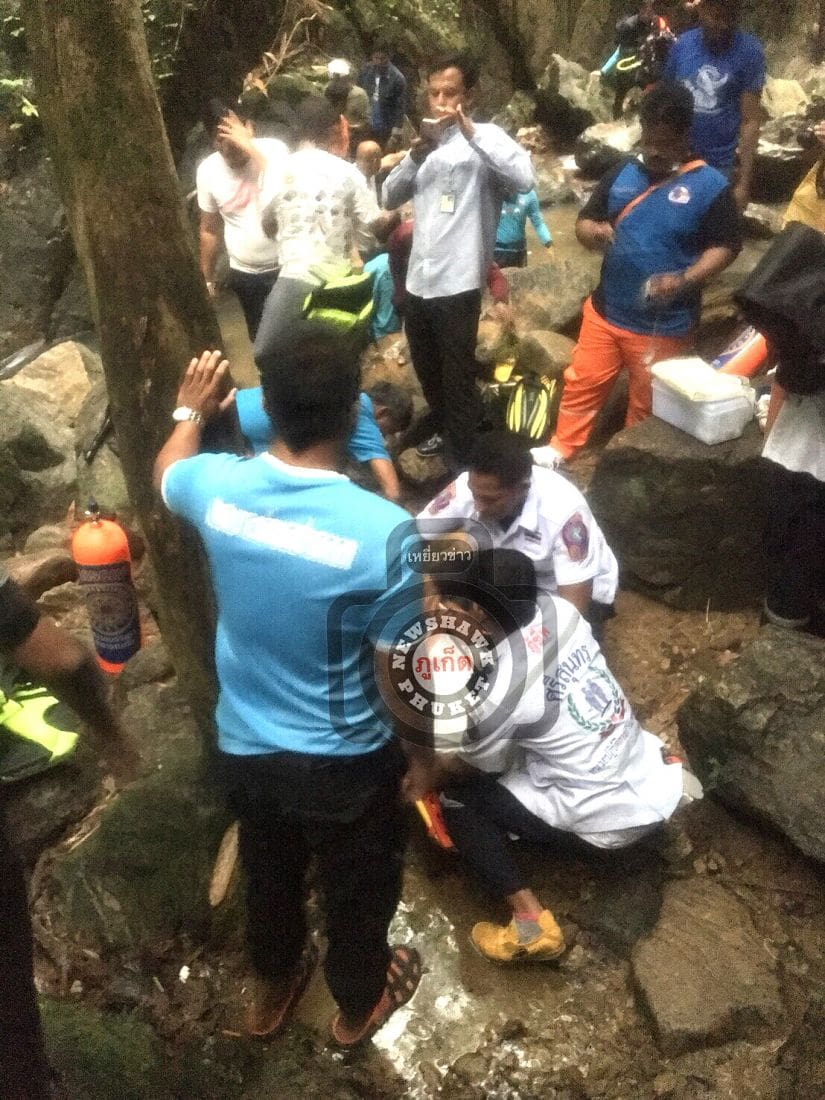 Man's body found at Bang Pae Waterfalls | The Thaiger