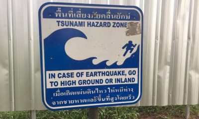 "Phuket Governor assures Phuket ""we're ready to handle any tsunami"" 