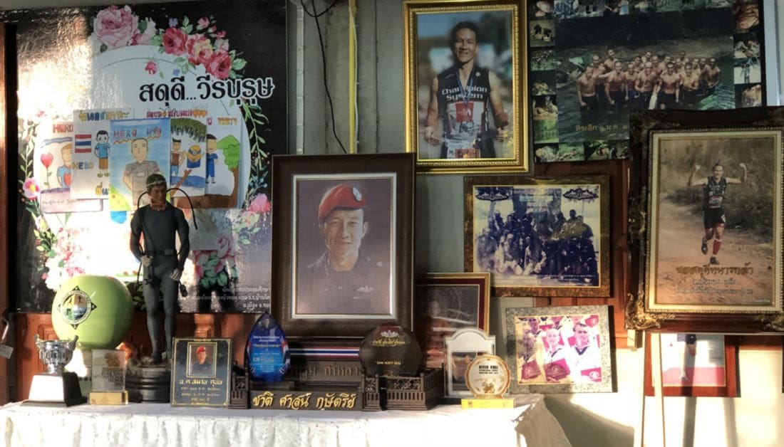Ceremony held in Chiang Rai marking 100 days since the death of Saman Kunan | The Thaiger