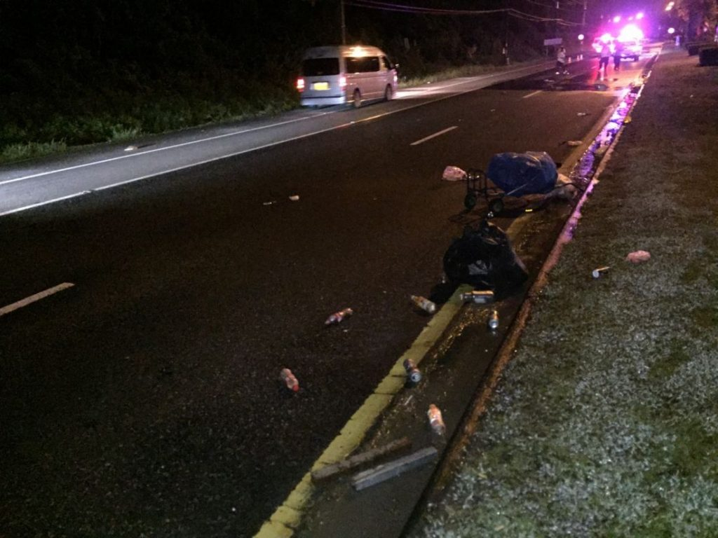 Pedestrian killed in Thalang after being struck by Mercedes Benz | News by The Thaiger