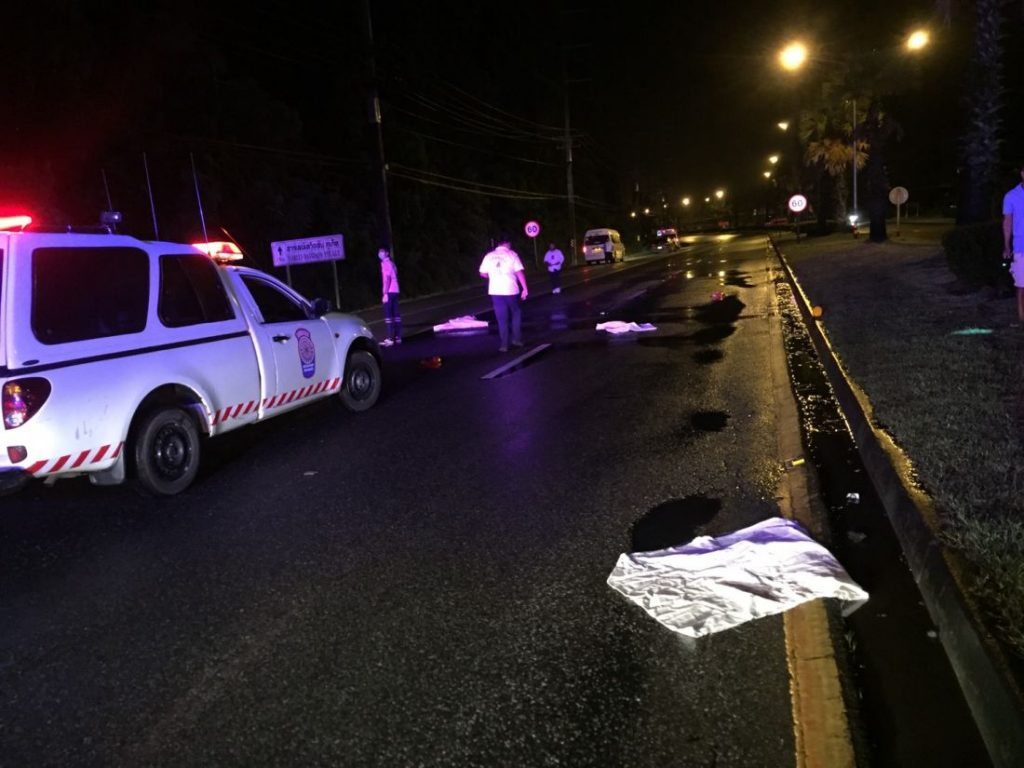 Mai Khao's 'West Sands' CEO being quizzed by police following last week's death on Thepkasattri Road | News by The Thaiger