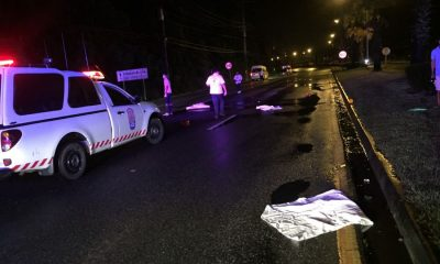 Pedestrian killed in Thalang after being struck by Mercedes Benz | The Thaiger