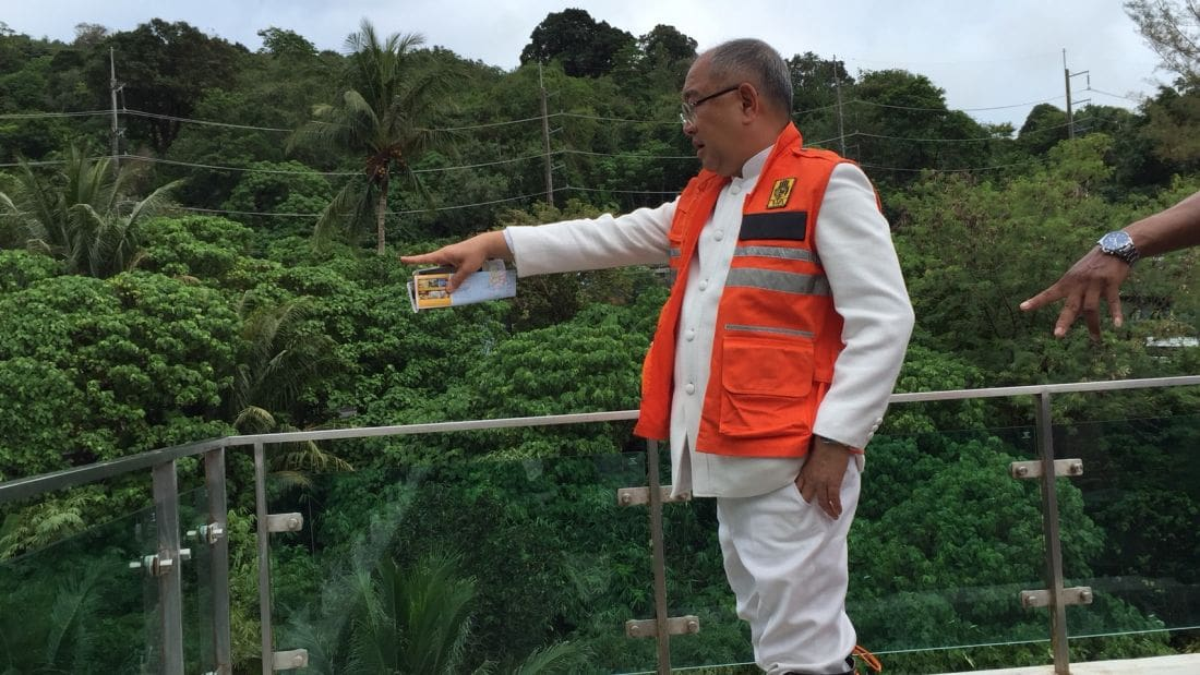 Phuket Governor inspects flash flood and landslide areas along the coast   The Thaiger