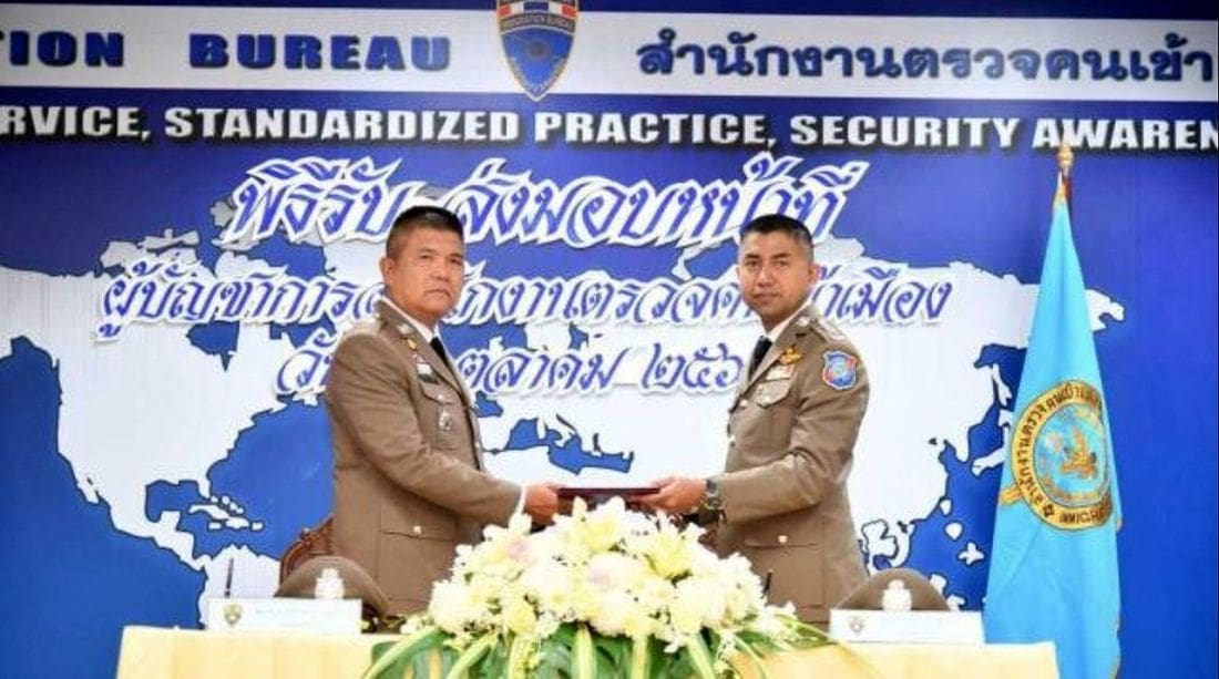No tips and a crackdown on visa agents – Surachete takes over Immigration top job   The Thaiger