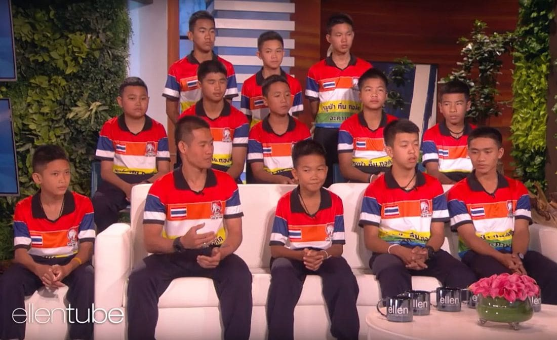 Mu Pa make their American TV debut and get a surprise visitor | The Thaiger