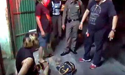 Chiang Mai glue sniffer beats up Chinese tourists | The Thaiger