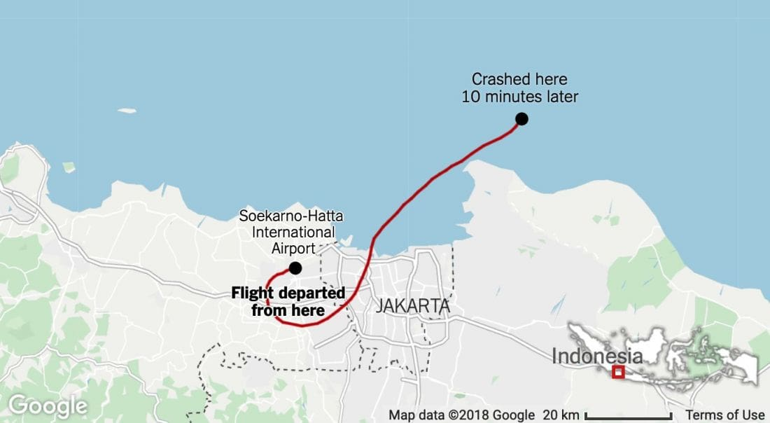 Speculation grows over the causes of Lion Air crash | The