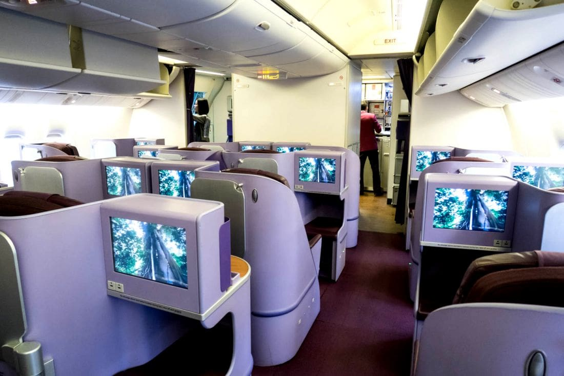 Four Thai pilots told not to discuss the first class seat fiasco   The Thaiger