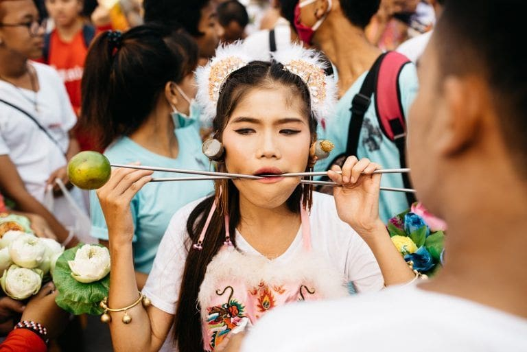 No vegetables are safe – Phuket Vegetarian Festival | The Thaiger