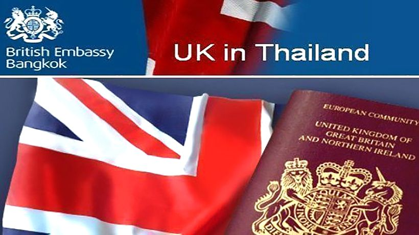 British Embassy Bangkok to stop certification of income letters | The Thaiger