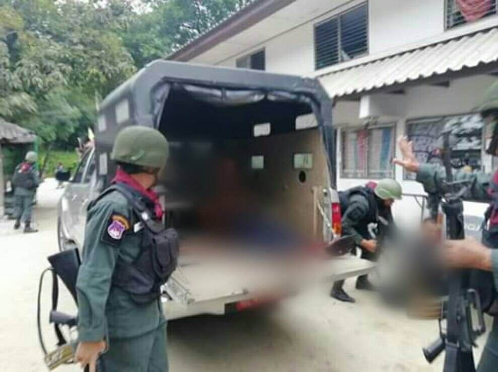 Three border police wounded in Narathiwat attack | The Thaiger