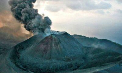 Andaman's Barren Island Volcano erupting | The Thaiger