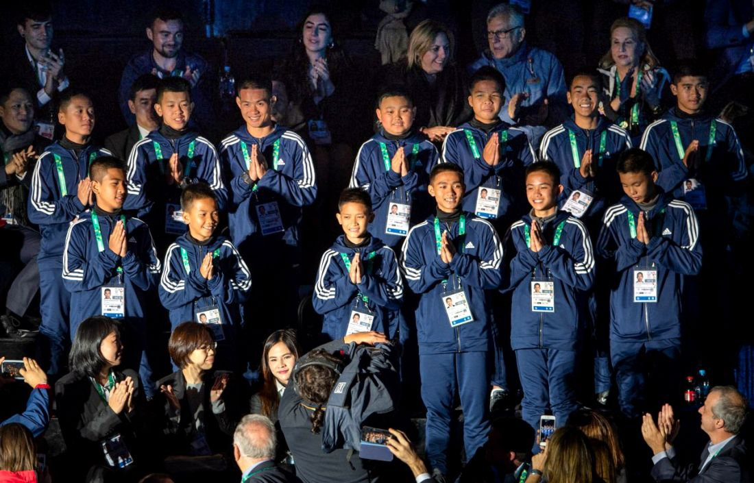 Mu Pa 13 get a warm welcome at Youth Games in Argentina | The Thaiger