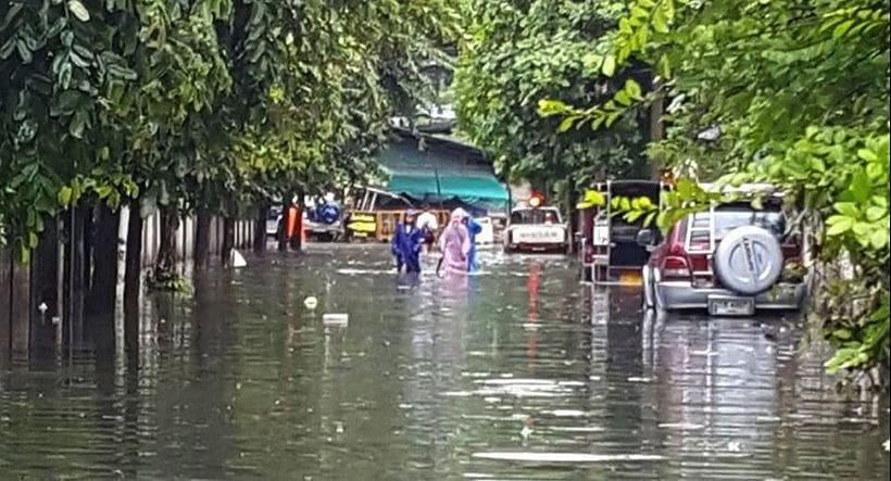 More rain until this Friday – parts of Krabi flooded | The Thaiger