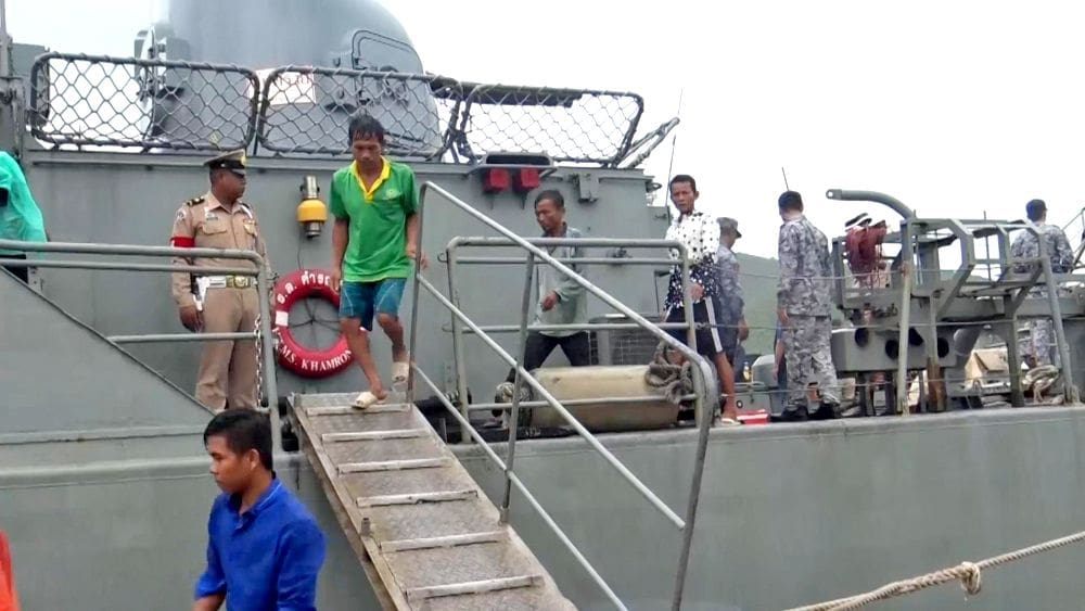 3 Vietnamese boats seized, 14 crew arrested | News by The Thaiger