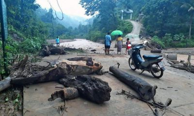 Floods sweep away bridge in Mae Hong Son | The Thaiger