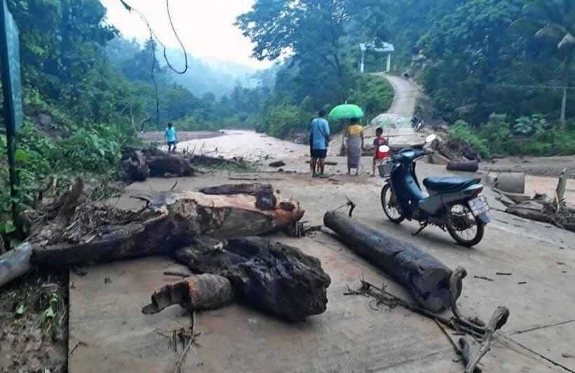 Floods sweep away bridge in Mae Hong Son | The Thaiger