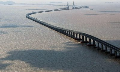 The Great Bridge of China – the world's longest sea-bridge opens | The Thaiger