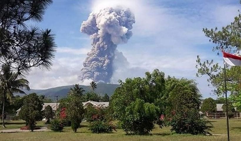 An earthquake, a tsunami, now a bubbling volcano – Sulawesi | The Thaiger