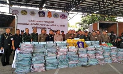 Another 15 million meth pills seized in Chiang Mai arrests | The Thaiger
