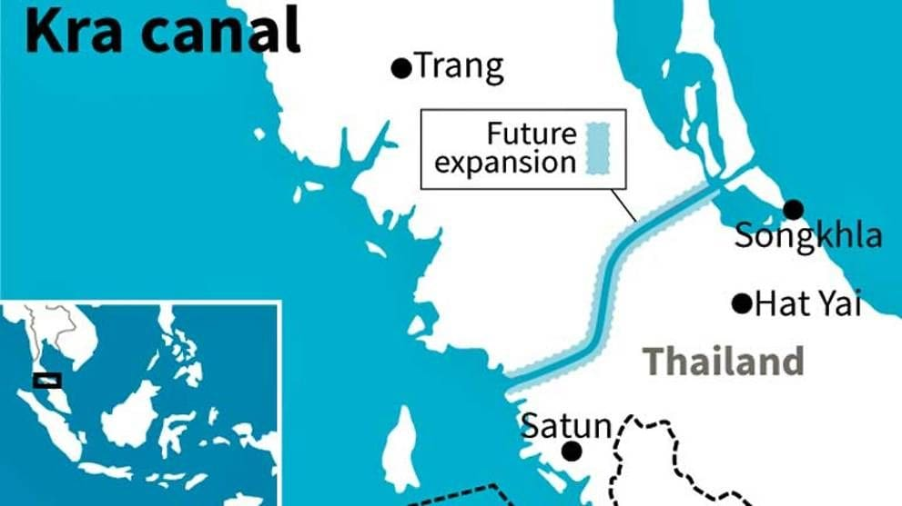 Panama's VP backs the Thailand Kra Canal project | News by The Thaiger