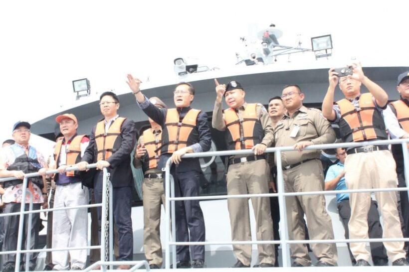 รัฐมนตรีว่าการกระทรวงการท่องเที่ยวและกีฬา ติดตามภารกิจการกู้เรือฟีนิกส์ | The Thaiger
