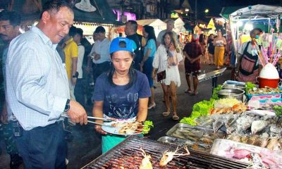 Seafood street restaurant holders go on the offensive | The Thaiger
