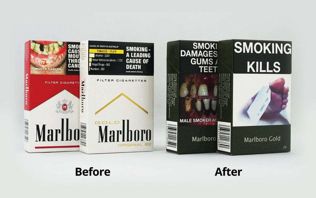 Plain packaging for cigarettes being introduced to discourage smoking | The Thaiger