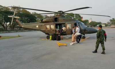Army's helicopters 'much larger, included pilot training' | The Thaiger