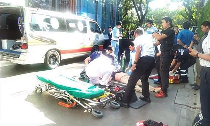 South Korean local company owner falls to his death in Chiang Mai | The Thaiger