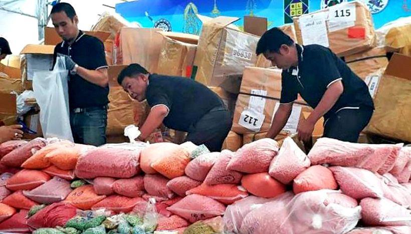 Police intercept 5 million methamphetamine pills in Chiang Rai | The Thaiger