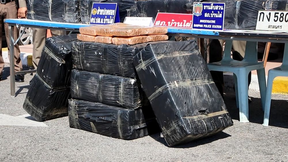 Half a tonne of marijuana seized... | News by The Thaiger