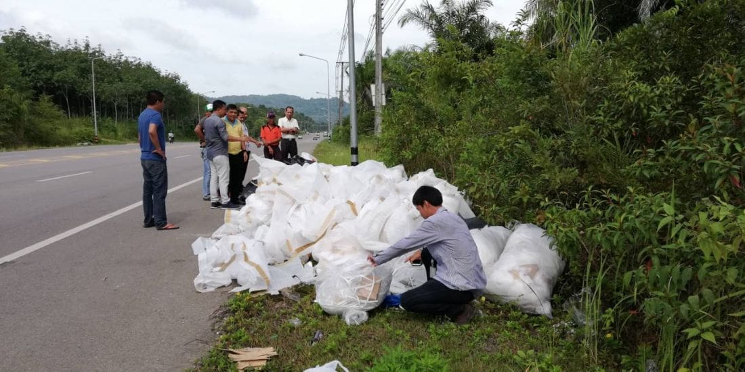 Action taken on Krabi Hotel for dumping garbage | The Thaiger