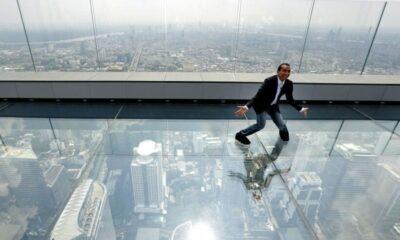 Walking on air. 314 metres above Bangkok. | The Thaiger