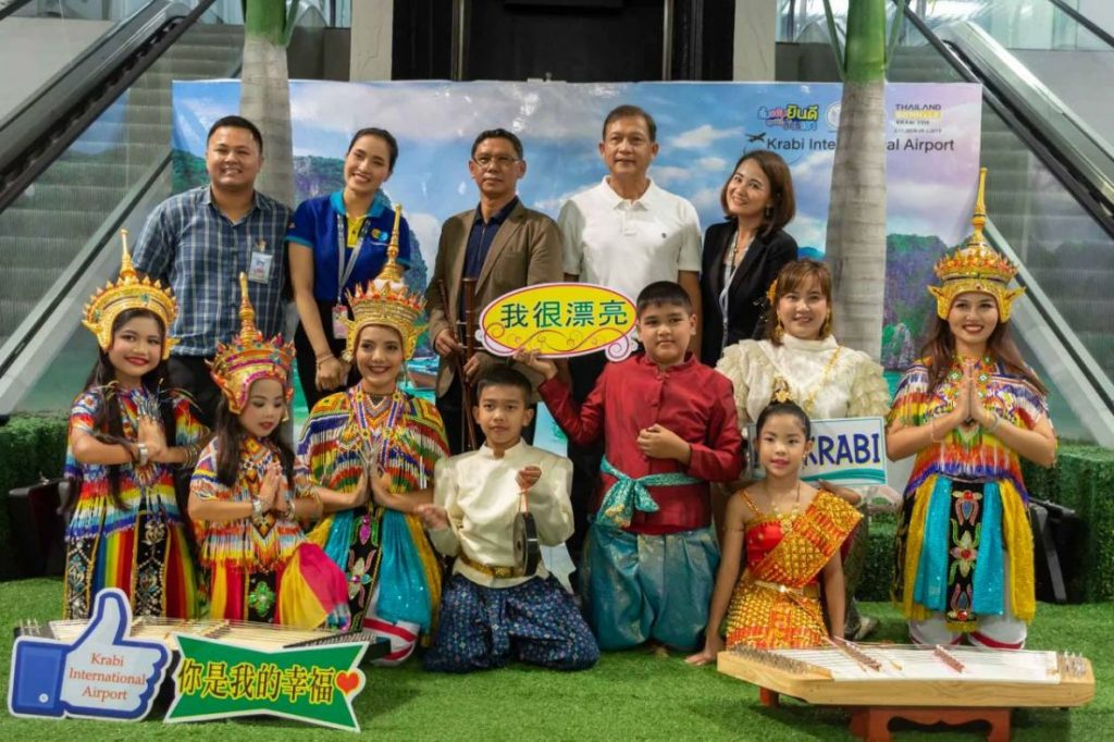 First Kunming-Krabi direct flight landed | News by The Thaiger