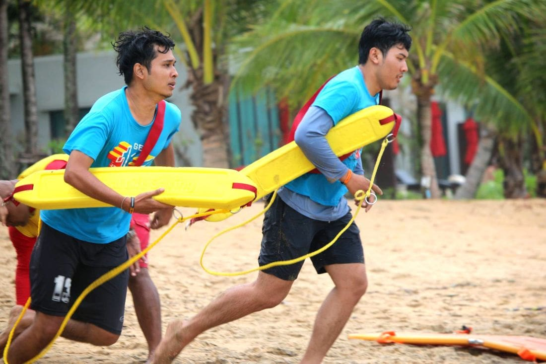9 years of providing Phuket's lifeguards comes to an end | The Thaiger