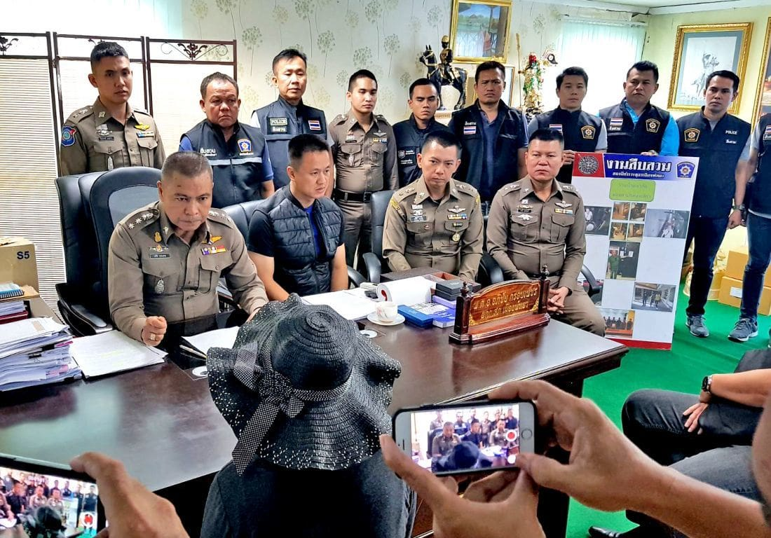 Pattaya police track down property scammer | The Thaiger