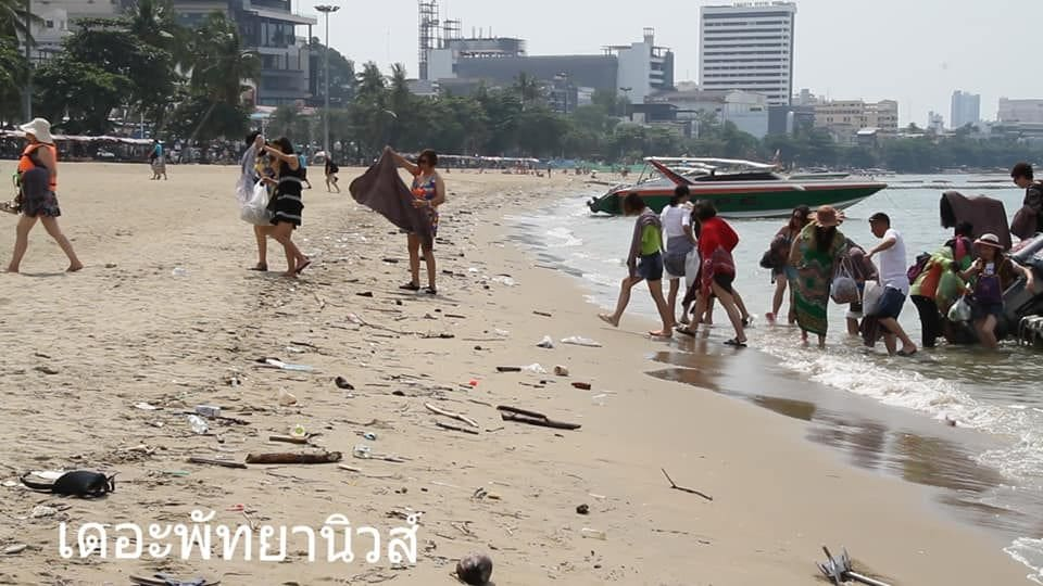 Pattaya beaches remain a disgrace despite 429 million baht clean-up | The Thaiger