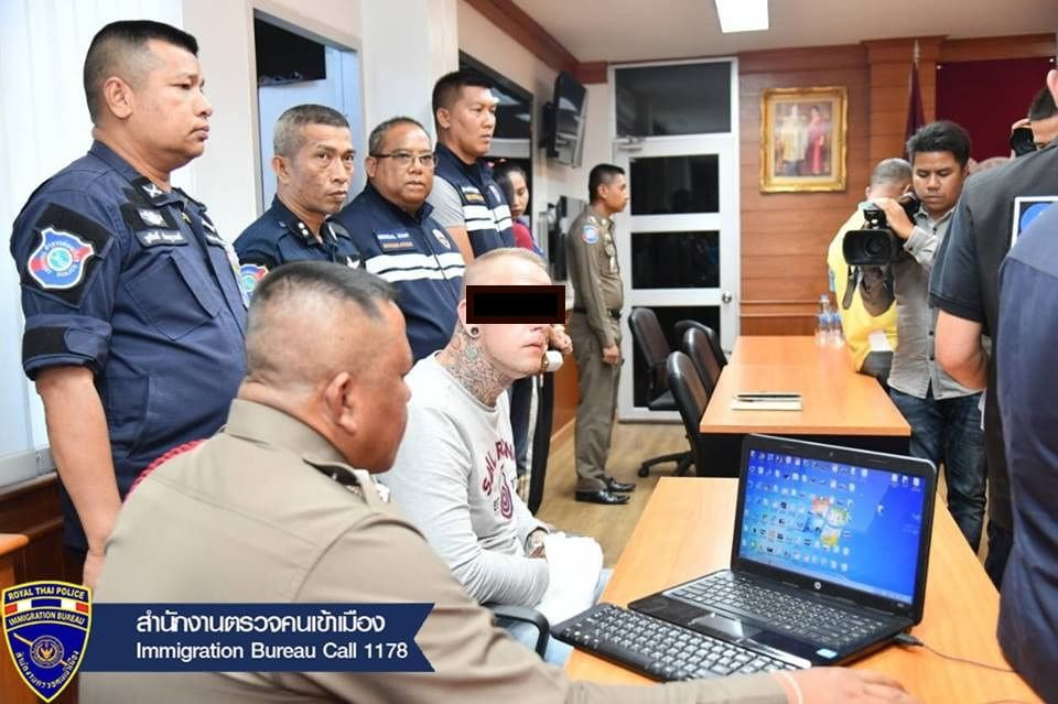Blacklisted Swede arrested in Phuket  | News by The Thaiger