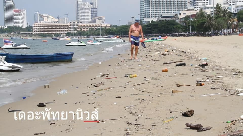 Pattaya beaches remain a disgrace despite 429 million baht clean-up | News by The Thaiger