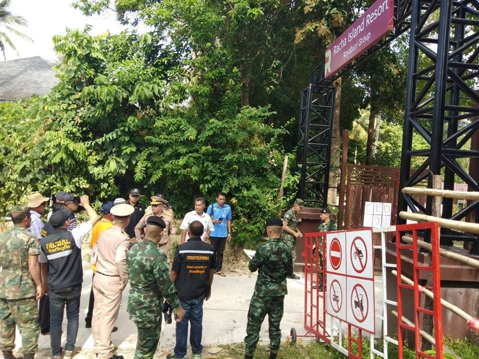 Officers inspect Koh Racha in public access complaint | The Thaiger