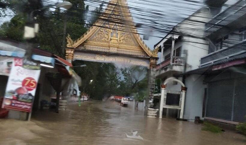 Prachuap Khiri Khan floods trigger evacuations | News by The Thaiger